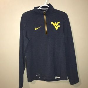 Nike West Virginia mountaineer pullover